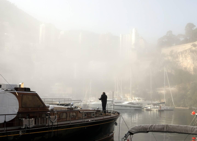 Depuis le port de Monaco.