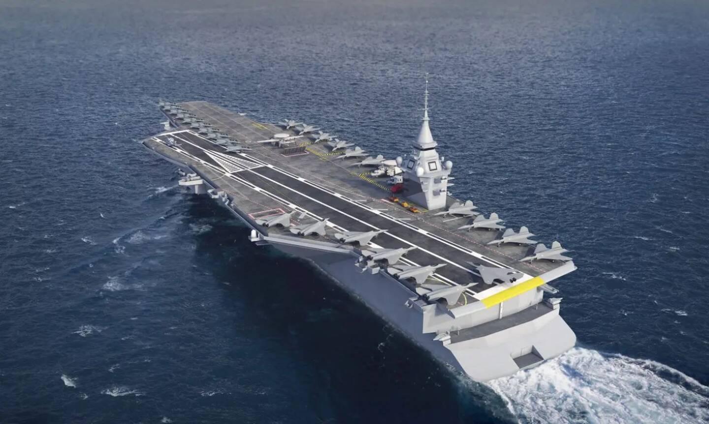 Lorsqu'il sera admis au service actif en 2038, le PANG (porte-avions de nouvelle génération) aura deux fois les capacités de déplacement du Charles-de-Gaulle.