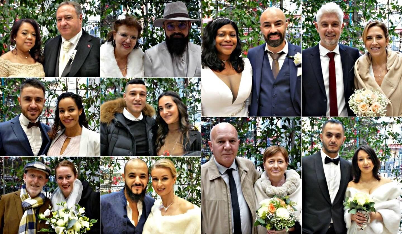 Dis couples se sont unis en mairie de Nice, ce week-end