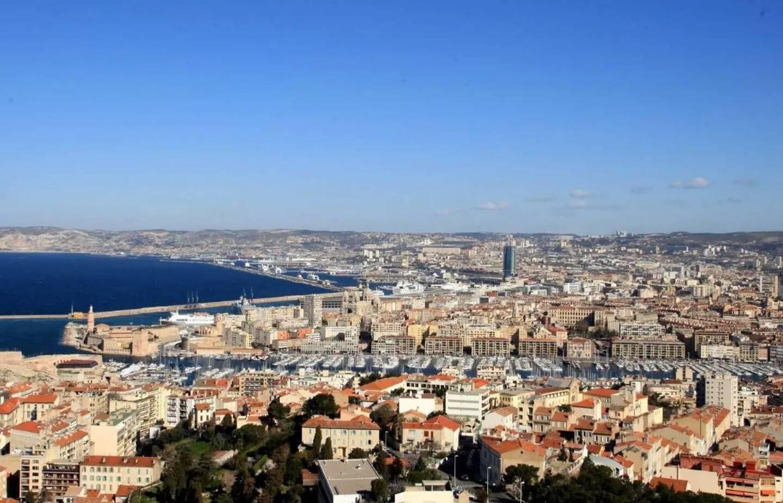 Une vue de Marseille.