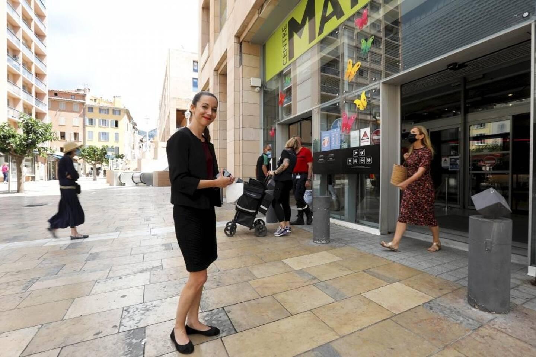Christel Garcia est arrivée à la tête du centre commercial phare de Toulon, Mayol, il y a deux ans.