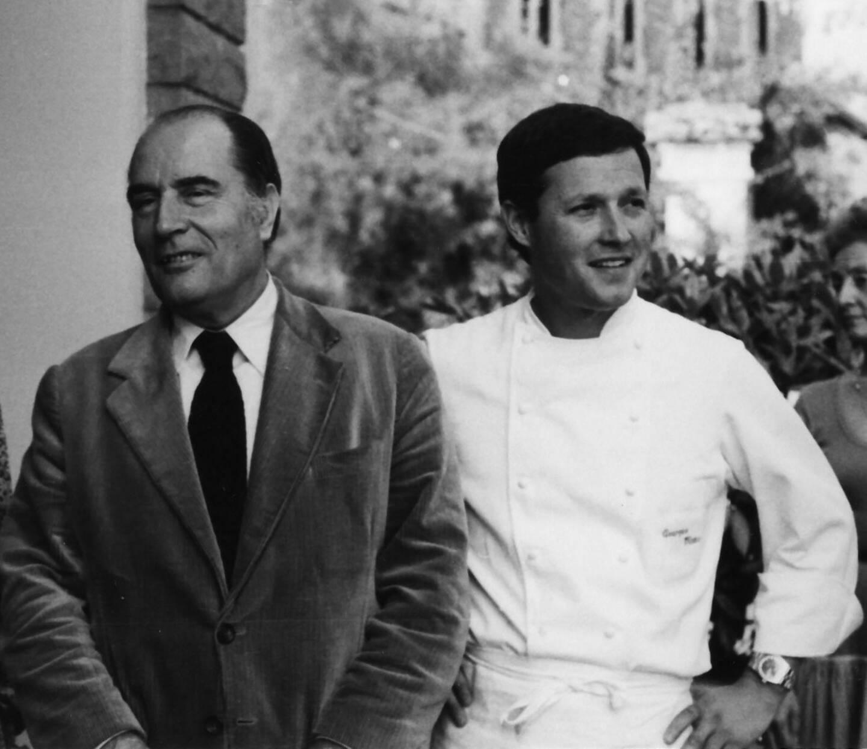 """En 1993, """"je me souviens d'un grand moment de convivialité et d'entente cordiale entre François Mitterrand et Gorbatchev, deux grands de ce monde"""" à Cluny"""