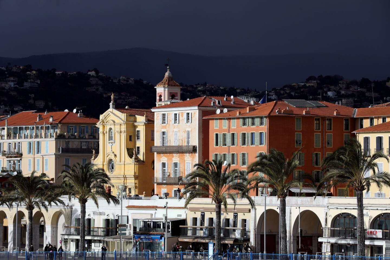 Une vue de Nice le 25 décembre 2020