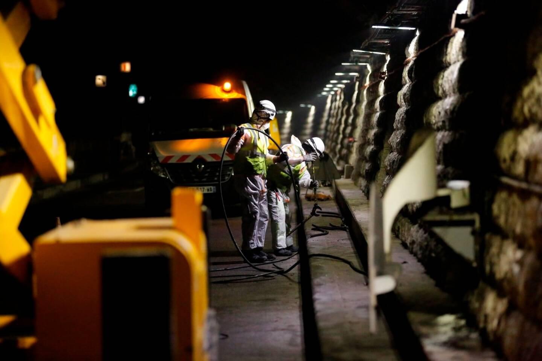 Des travaux de mise aux normes incendie auront lieu tous les soirs dans le tunnel André Liautaud durant les 18 prochains mois.