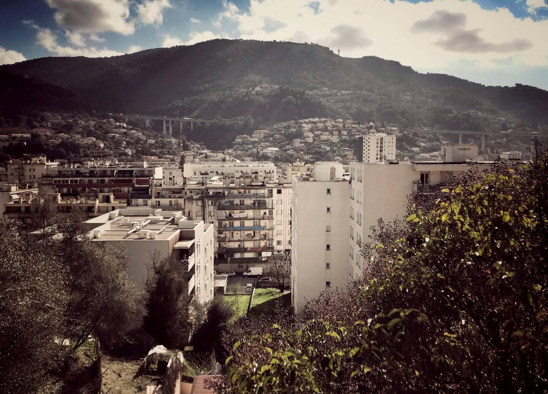 Le quartier de l'Ariane, à Nice.