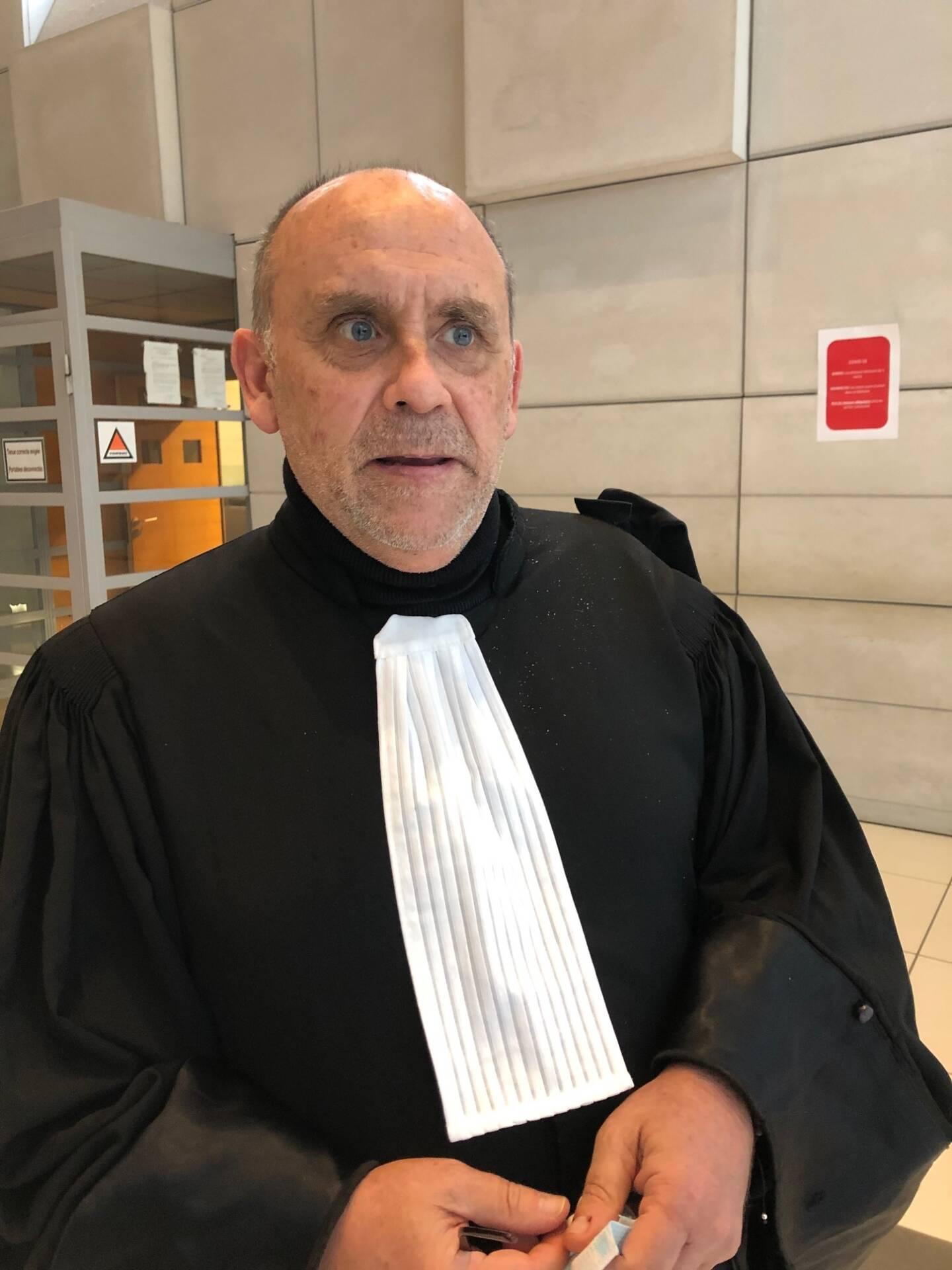 Me Bernard Sivan, l'avocat grassois des proches de Yannick Locatelli, tué par balles.