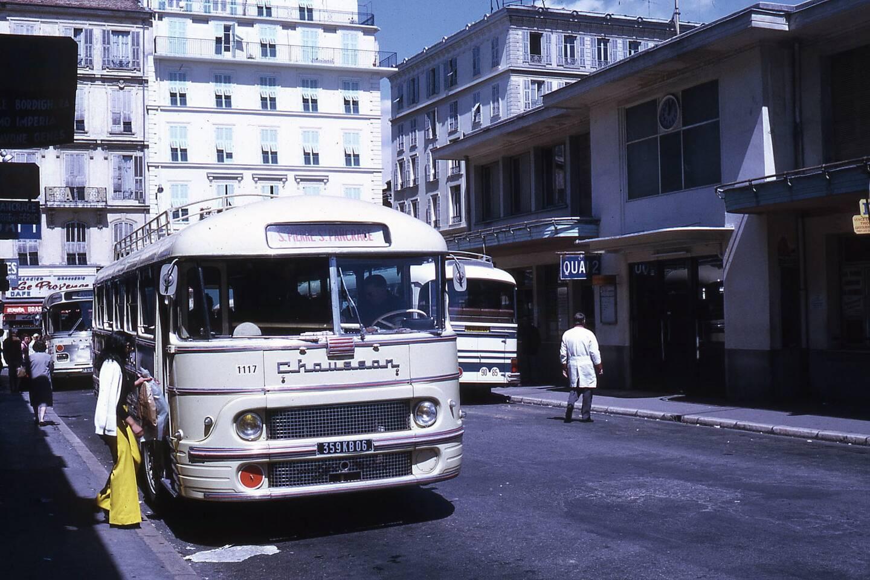 Un bus Chausson de 1973
