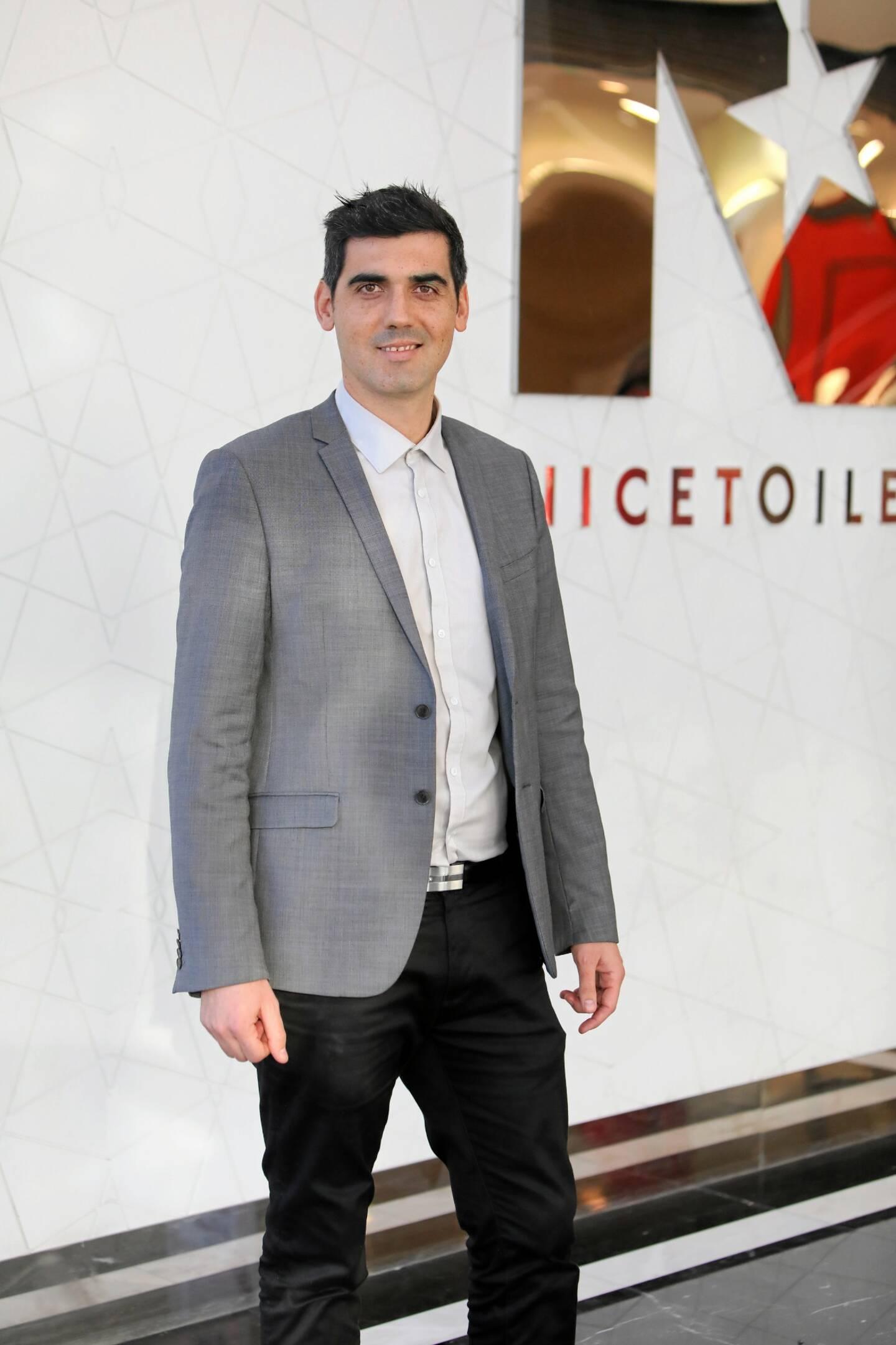 Patrick Nolier, directeur de Nicétoile, prêt à appliquer de nouvelles dispositions quant à la jauge des clients.