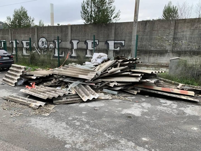 Délinquance, incivilités dont les dépôts sauvages - ici à Riba rossa - dans le collimateur de la Ville.