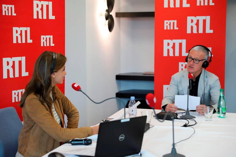 Ophélie Meunier et Didier Deschamps, en direct ce samedi sur RTL depuis le Méridien Beach Hotel.