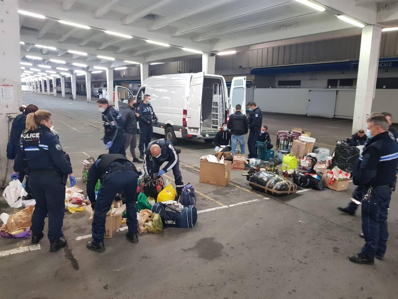 Par cette opération coup de poing, la Ville de Nice espère dissuader de nouveaux arrivages sauvages en provenance des pays de l'Est.