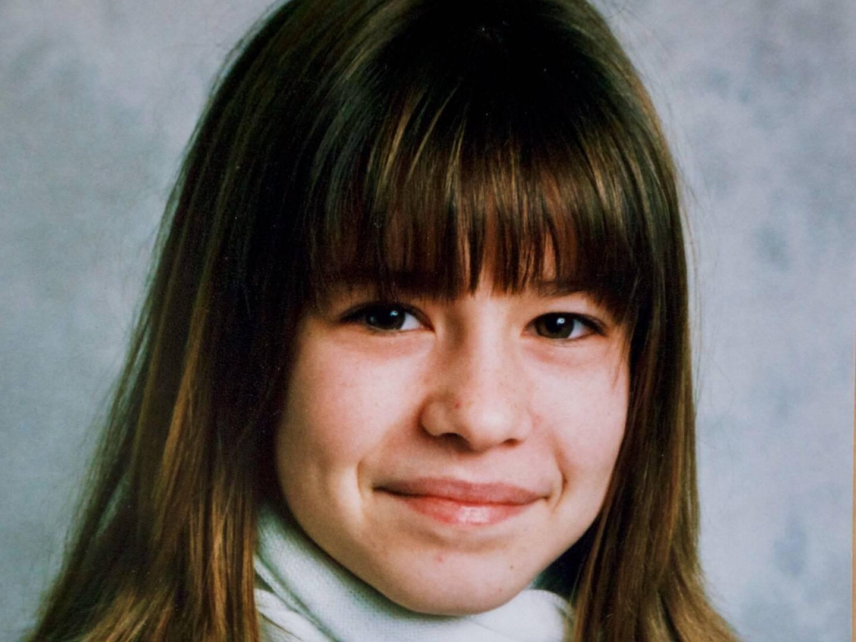 Julie Beaudouin à 13 ans, l'âge où elle dit avoir commencé à subir les attouchements de A.
