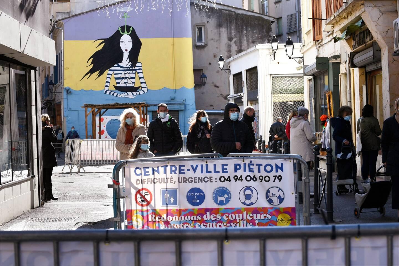 La Seyne a expérimenté mi-février, le centre-ville fermé aux voitures sur sa partie «historique».