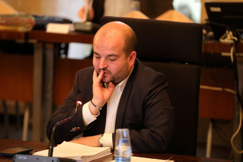 Le maire de Fréjus David Rachline.