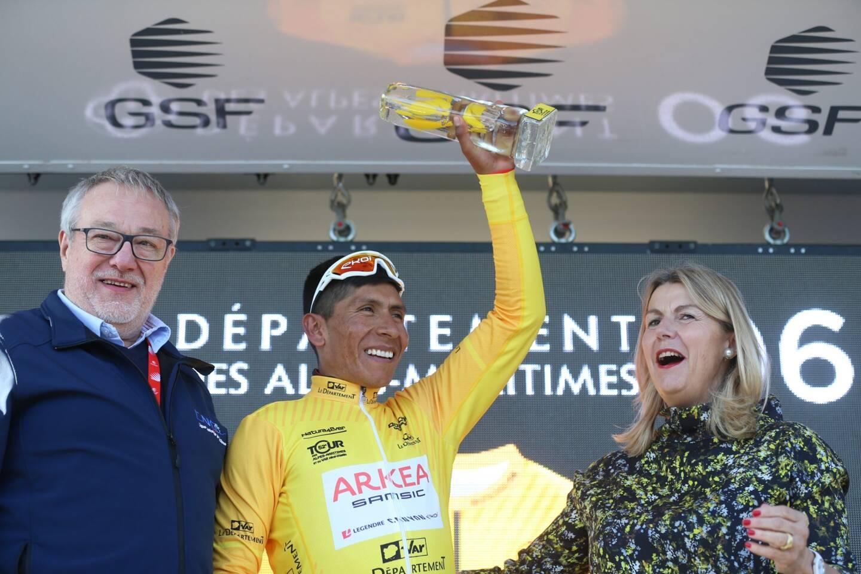 Nairo Quintana, vainqueur en titre du tour des Alpes-Maritimes et du Var.