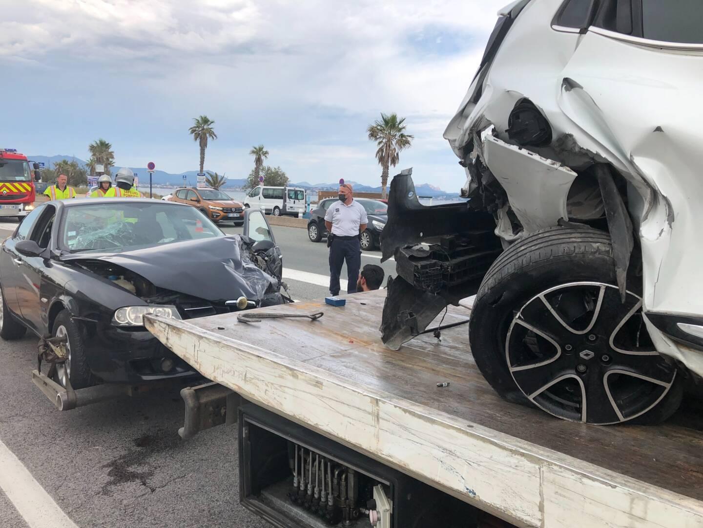 Un accident s'est produit aux alentours de 17 heures, ce vendredi, à Saint-Aygulf (Fréjus).