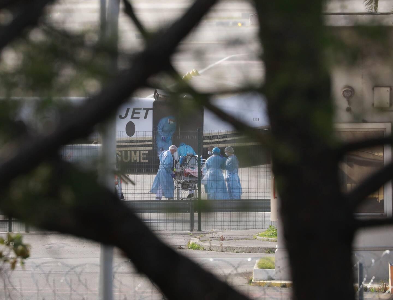 Les transferts de patients Covid-19 de Nice ont eu lieu ce mercredi 24 février.