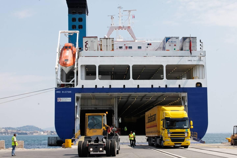 Jusqu'en 2019, une ligne maritime de transport de marchandises reliait La Seyne à la Turquie.