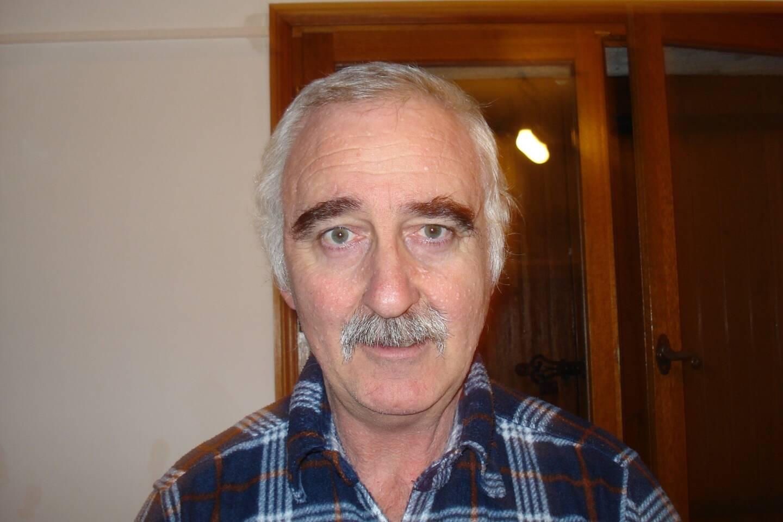 René Trastour, de retour dans sa commune mais positif après un mois de convalescence.