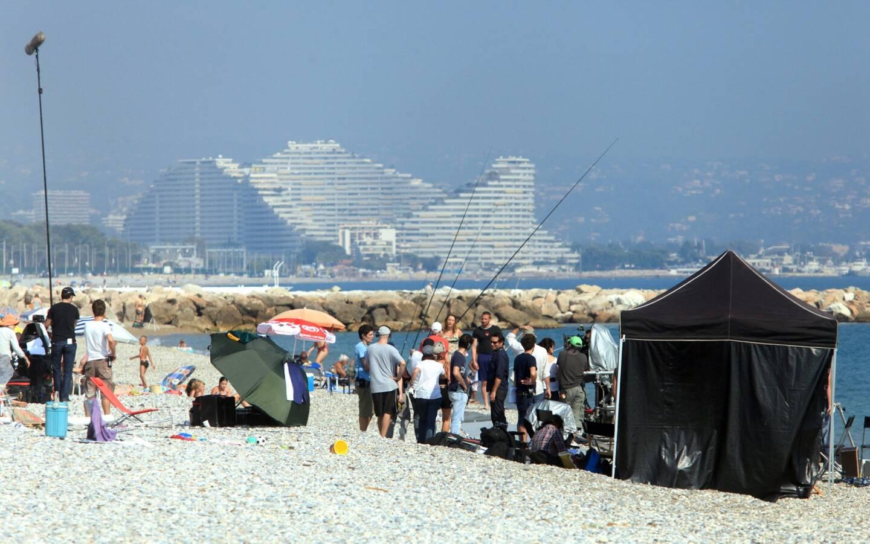 En 2011, l'équipe du film De rouille et d'os a posé ses caméras sur la plage entre Antibes et Villeneuve-Loubet.