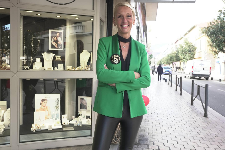 Séverine Van Haren de la bijouterie Lorenzo a mis en place une boîte aux lettres pour recueillir les commandes des clients pendants le premier confinement.