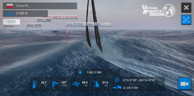 Le passionné de voile, propriétaire d'un bateau à La Ciotat, s'est totalement plongé dans la course virtuelle pendant deux mois et demi.