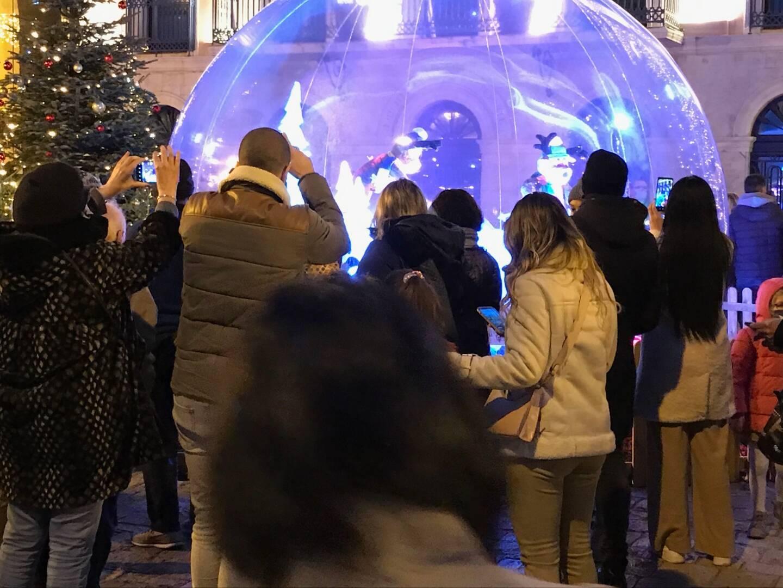 Les bulles de Noël à Sanary.