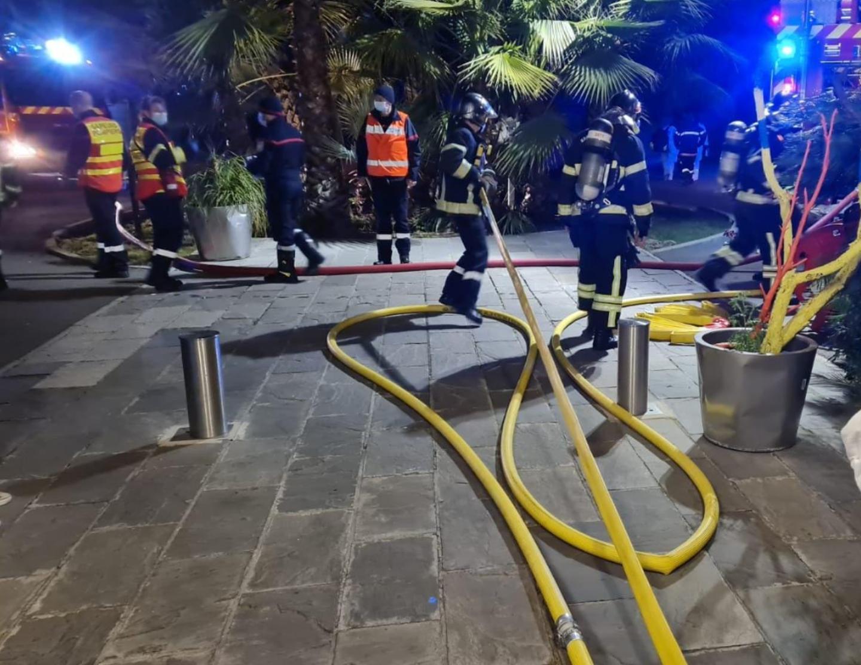 42 sapeurs-pompiers sont intervenus.