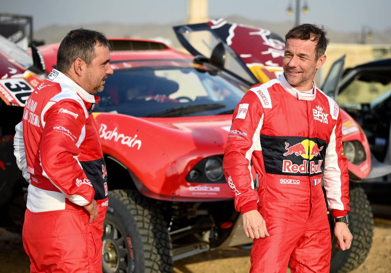 Le tandem Loeb-Elena est prêt à explorer le Dakar saoudien à bord de ce Hunter flambant neuf.
