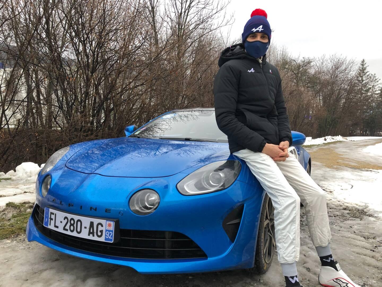 Esteban Ocon a vite apprivoisé cette Alpine A110S.