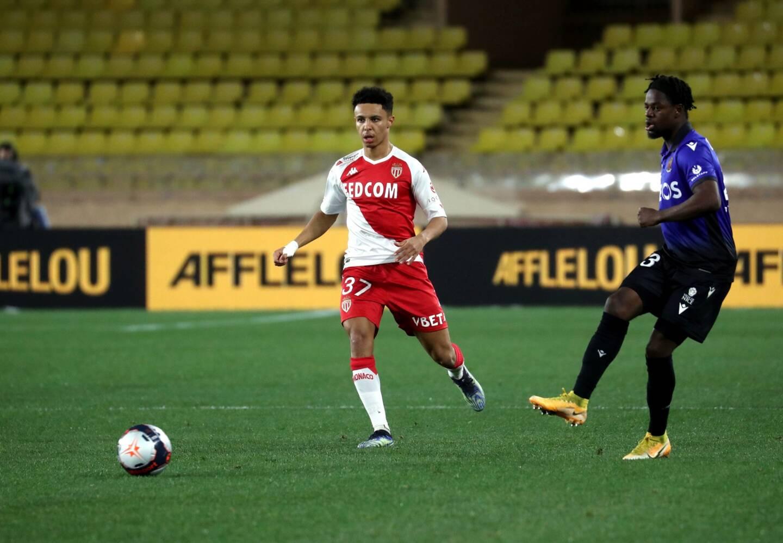Jordan Lotomba (à droite) s'est blessé lors du derby face à Monaco mercredi.