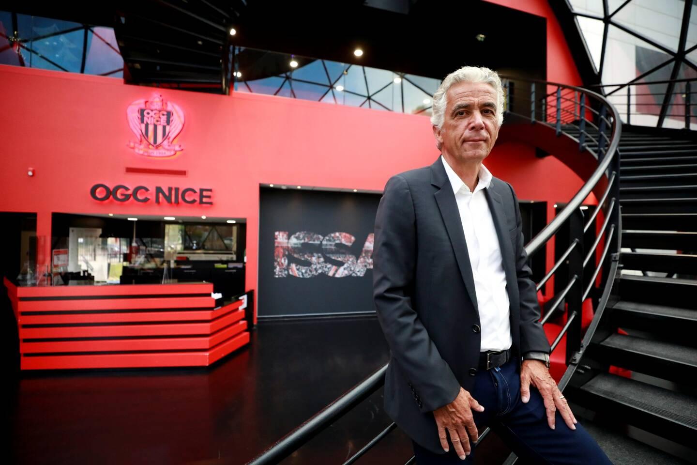 Le président de l'OGC Nice Jean-Pierre Rivère nous a reçus, ce jeudi 27 mai, au centre d'entraînement.