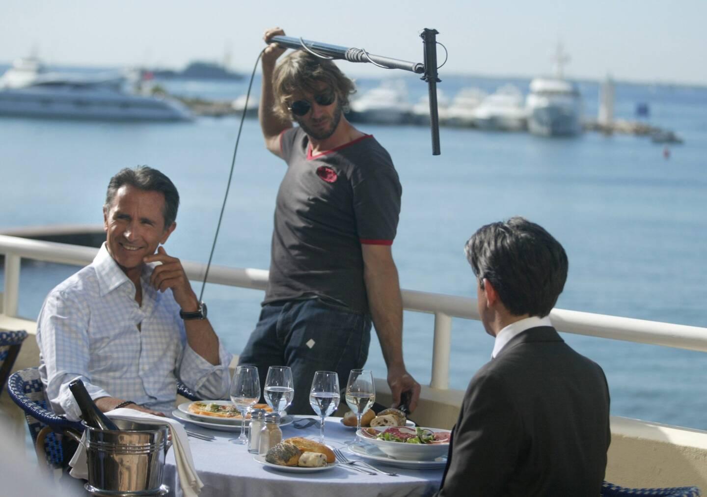 En 2008, Thierry Lhermitte a profité de la terrasse de l'hôtel Belles-Rives de Juan-les-Pins pour une scène.
