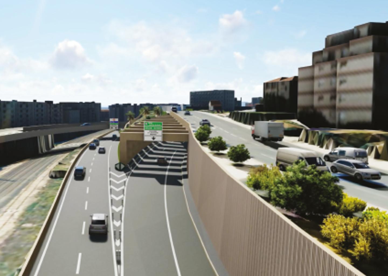 Les travaux de raccordement de la voie Mathis à l'autoroute viennent de commencer. Un chantier en deux phases qui sera complètement achevé en 2026. Enfin ! Le projet avait été initié il y a plus de 12 ans.