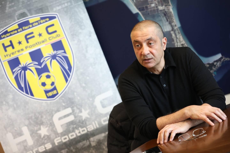 Mourad Boudjellal, le nouveau patron du Hyères FC, ne veut... pas de Cristiano Ronaldo.