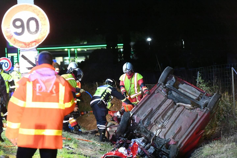 L'accident s'est produit à la hauteur de la sortie St-Augustin entre Hyères et Toulon.