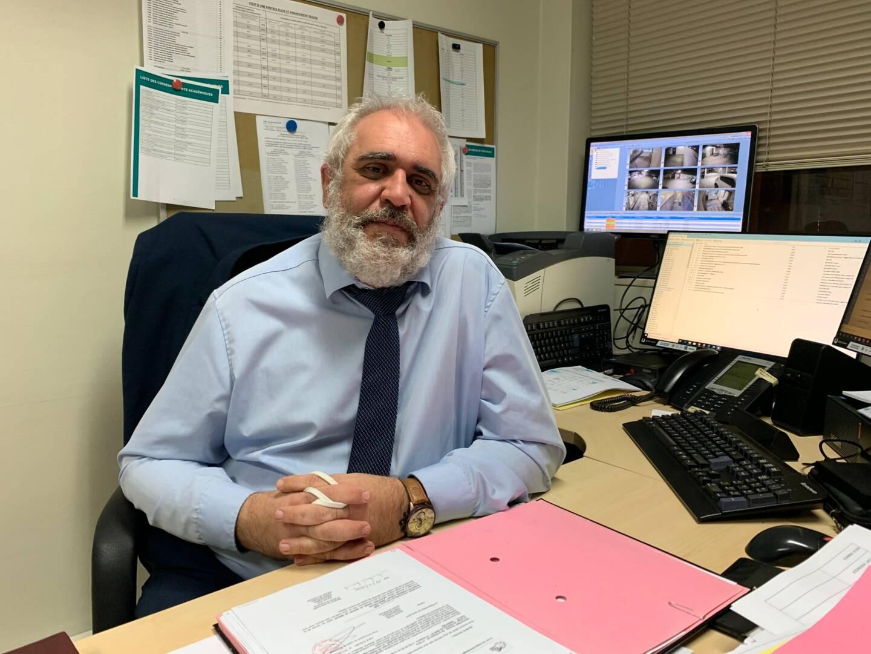 Nicolas Rougier est secrétaire du syndicat Indépendance et direction FO pour l'académie de Nice.