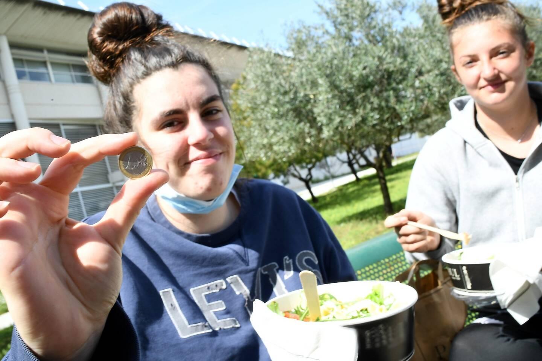 L'aide à laquelle les 62.000 étudiants de l'académie, dont 14.000 dans le Var, peuvent prétendre : le repas à 1 euro.