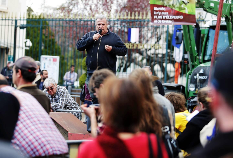 était un militant agricole. Il n'hésitait pas à donner de la voix pour défendre les éleveurs, comme en 2018 lors d'une manifestation à Draguignan contre la prédation.