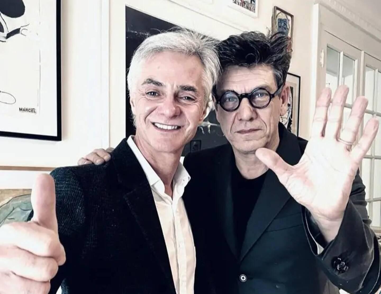 Cyril Viguier et Marc Lavoine.