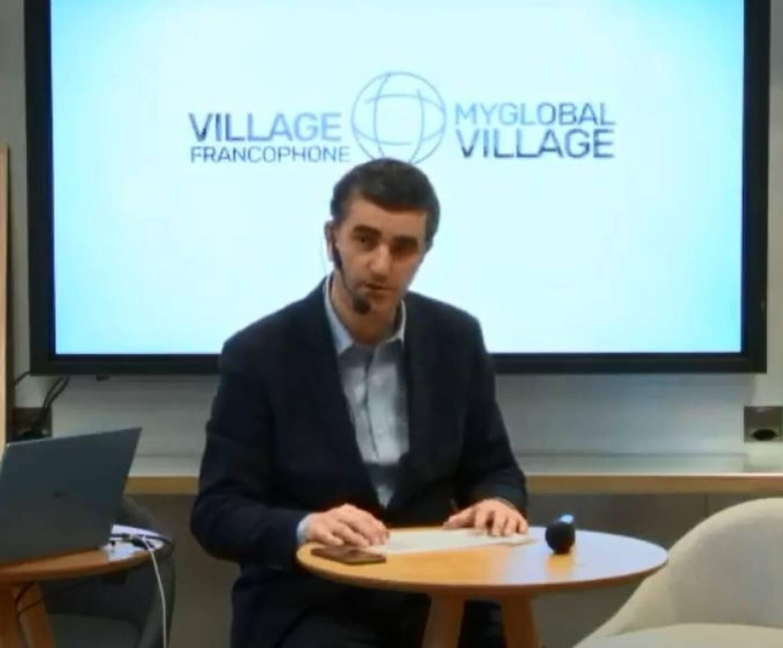 L'animateur réussit à fédérer tous les #Villages au profit des startups qui pitchent au CES de Las Vegas qui se déroule en digital.