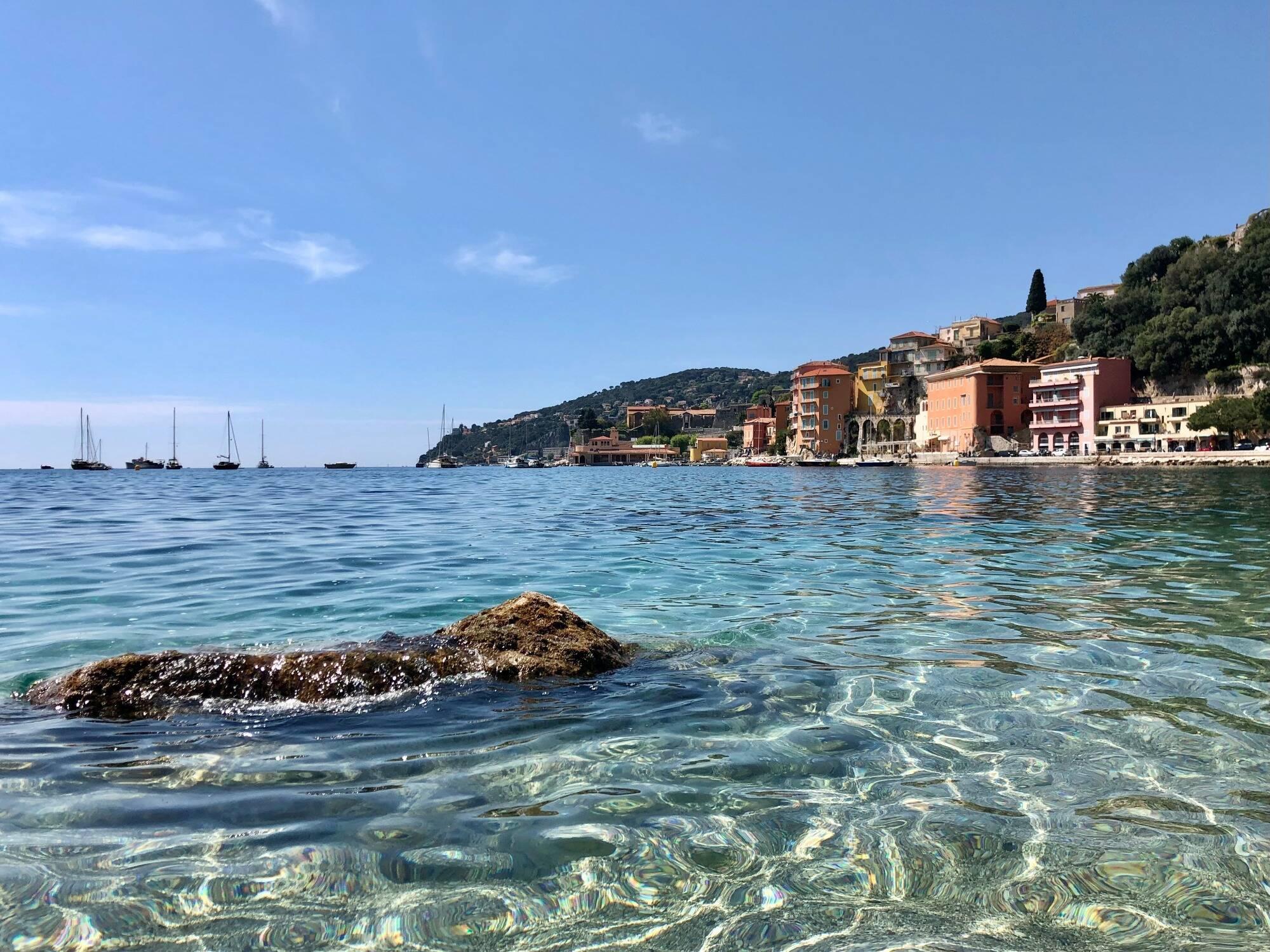 Un très beau mercredi sur la Côte d'Azur