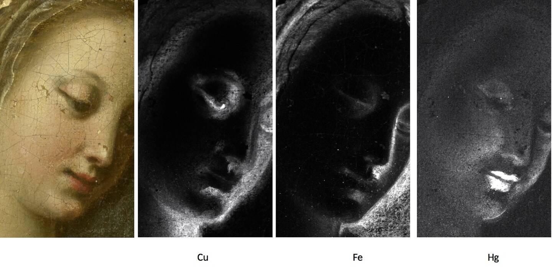 Des analyses physico-chimiques ont permis d'étudier les coulisses de la réalisation de l'oeuvre.