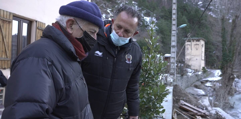 En janvier 2021, Philippe Roustan fait partie bénévole des Week-ends Solidaires venus aider Sammy R.