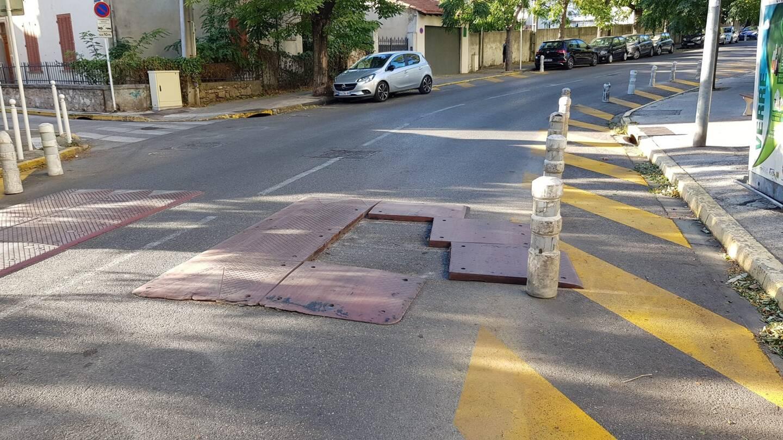 A Toulon, un exemple de coussin berlinois potentiellement dangereux