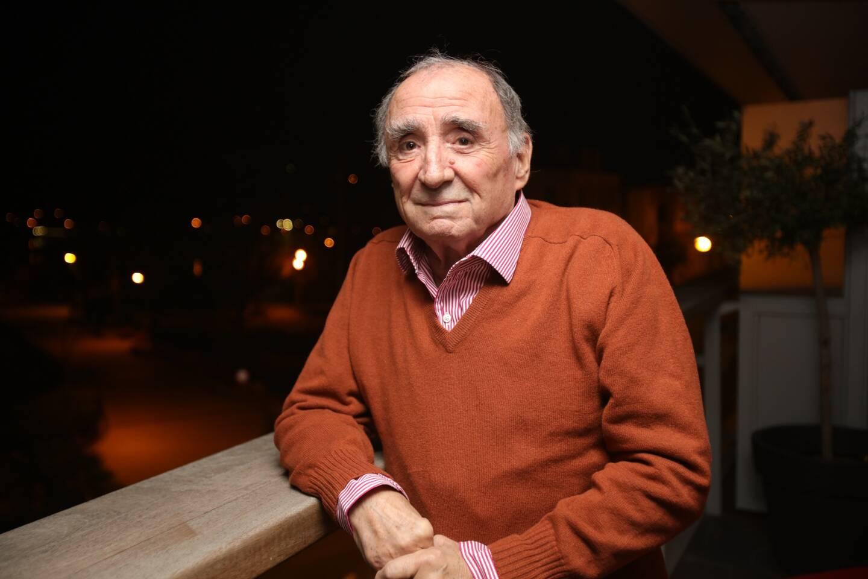 Claude Brasseur, à l'hôtel Royal Beach de Juan-les-Pins en 2015.