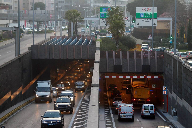 Le tunnel de Toulon (image d'illustration).