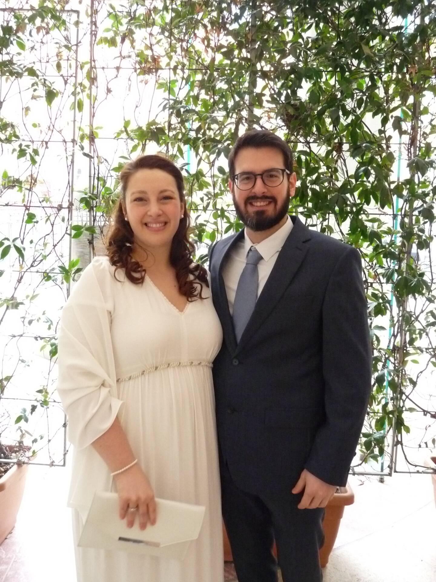 Manon Caroli, enseignante et Eric Ladier, ergonome