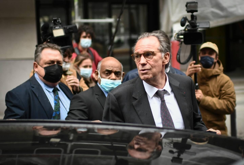 Renaud Muselier au siège de LR le 4 mai 2021