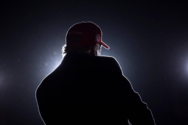Donald Trump lors d'un meeting de campagne à Kenosha, dans le Wisconsin, le 2 novembre 2020